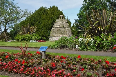 Doocot in Learmonth Gardens
